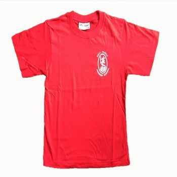 Holy Family Red PE T-Shirt