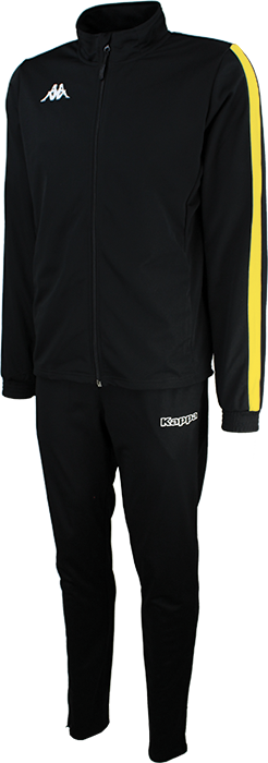 Salcito TKT  Tracksuit Black / Yellow
