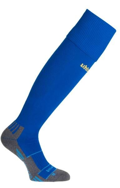 Team Pro Player Socks  Azure Blue / Corn Yellow